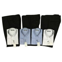 Pack HOMME de 4 chemises et 3 pantalons