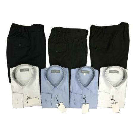 Pack JEUNE de 4 chemises et 3 pantalons
